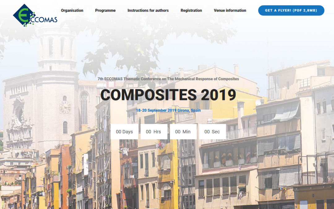 HAIRMATE presenting during ECCOMAS Composites2019 in Girona